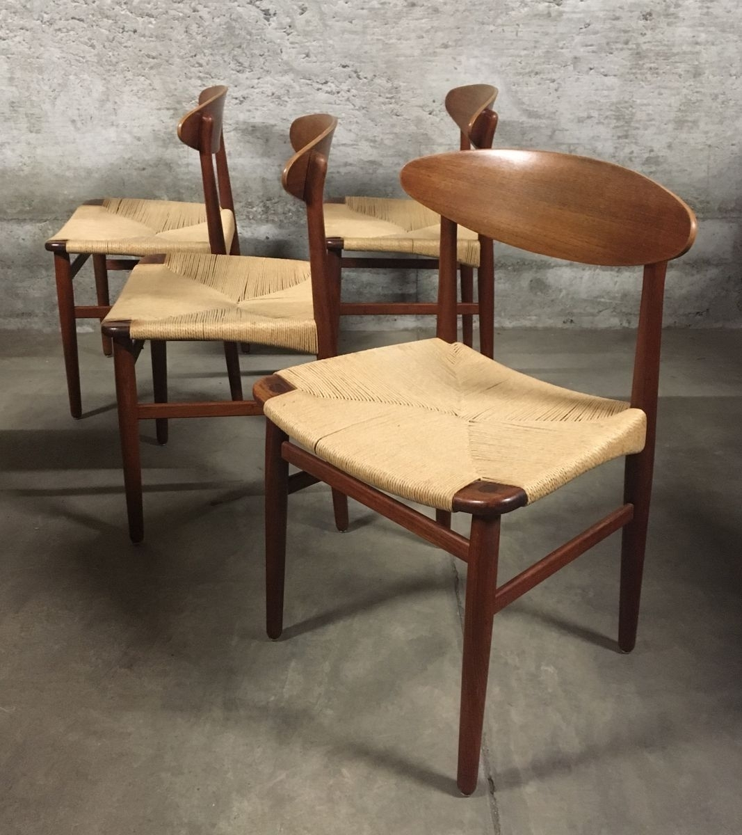 Danish Mid Century Dining Chairsbørge Mogensen For Søborg Within Most Recently Released Cintra Side Chairs (#9 of 20)