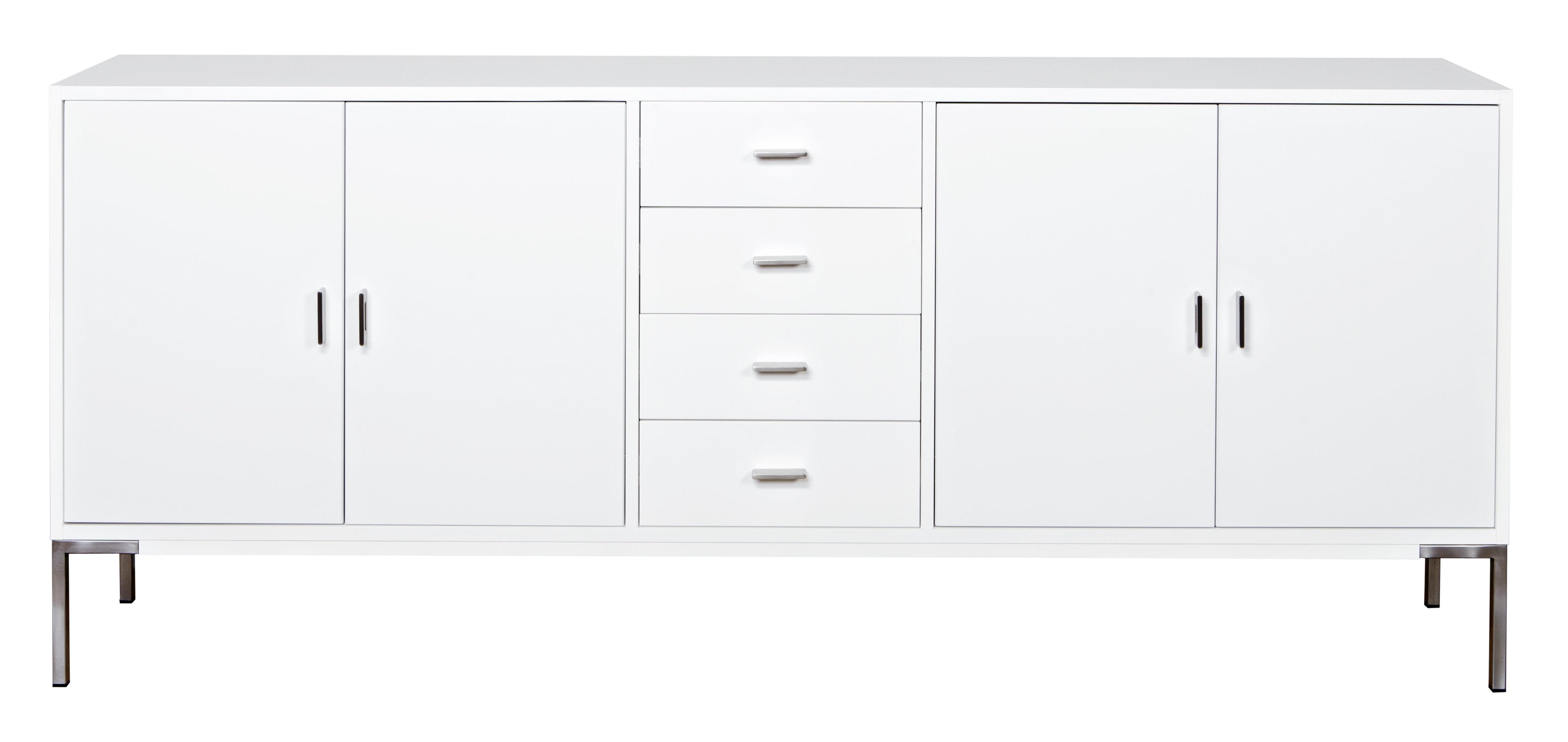Dcor Design Hinrik 4 Door 4 Drawer Sideboard | Wayfair.co (#5 of 20)