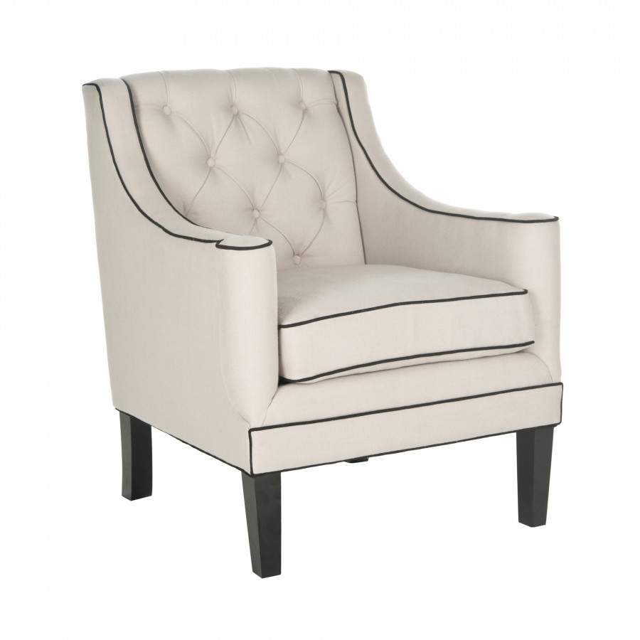 Decor Market Safavieh Sherman Arm Chair Accent Chairs With Regard To Most Recently Released Market Side Chairs (#6 of 20)