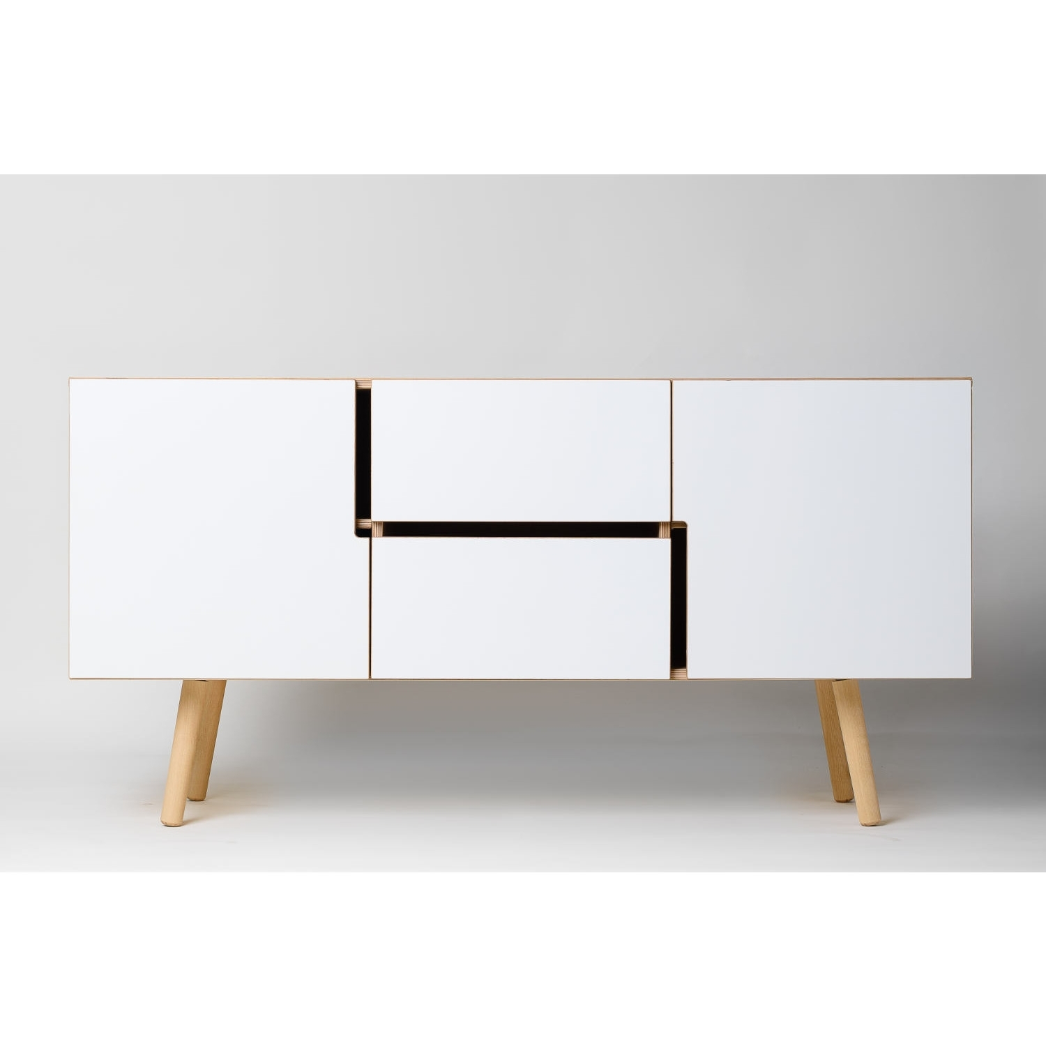 Decovry, Exclusive Home Decoration In Best And Newest Oil Pale Finish 4 Door Sideboards (View 17 of 20)