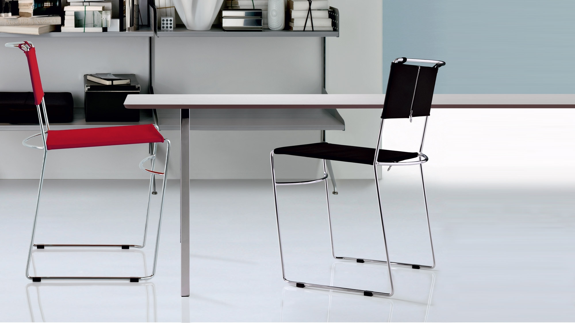 Inspiration about Delfina Side Chairs In Fashionable Delfina – Sedia Impilabile – Rexite – Design – Italy (#5 of 20)