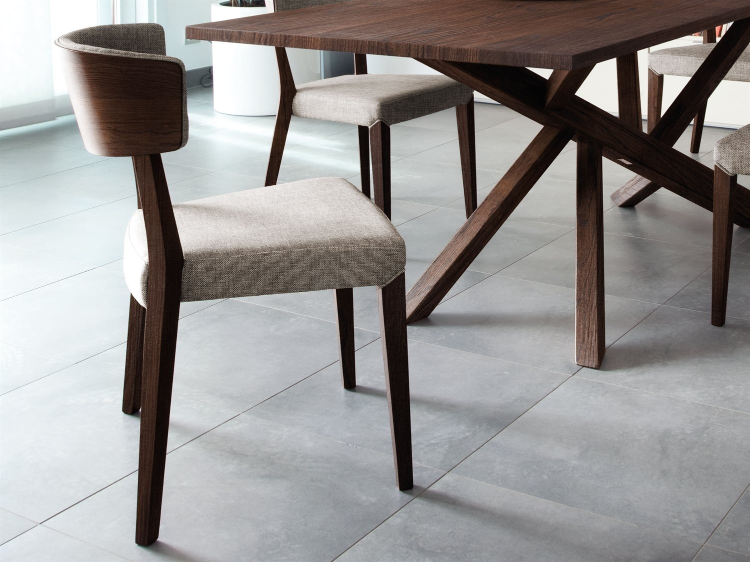 Dom Side Chairs For Best And Newest Domitalia Diana Dining Side Chair (Sold In 2) (#5 of 20)