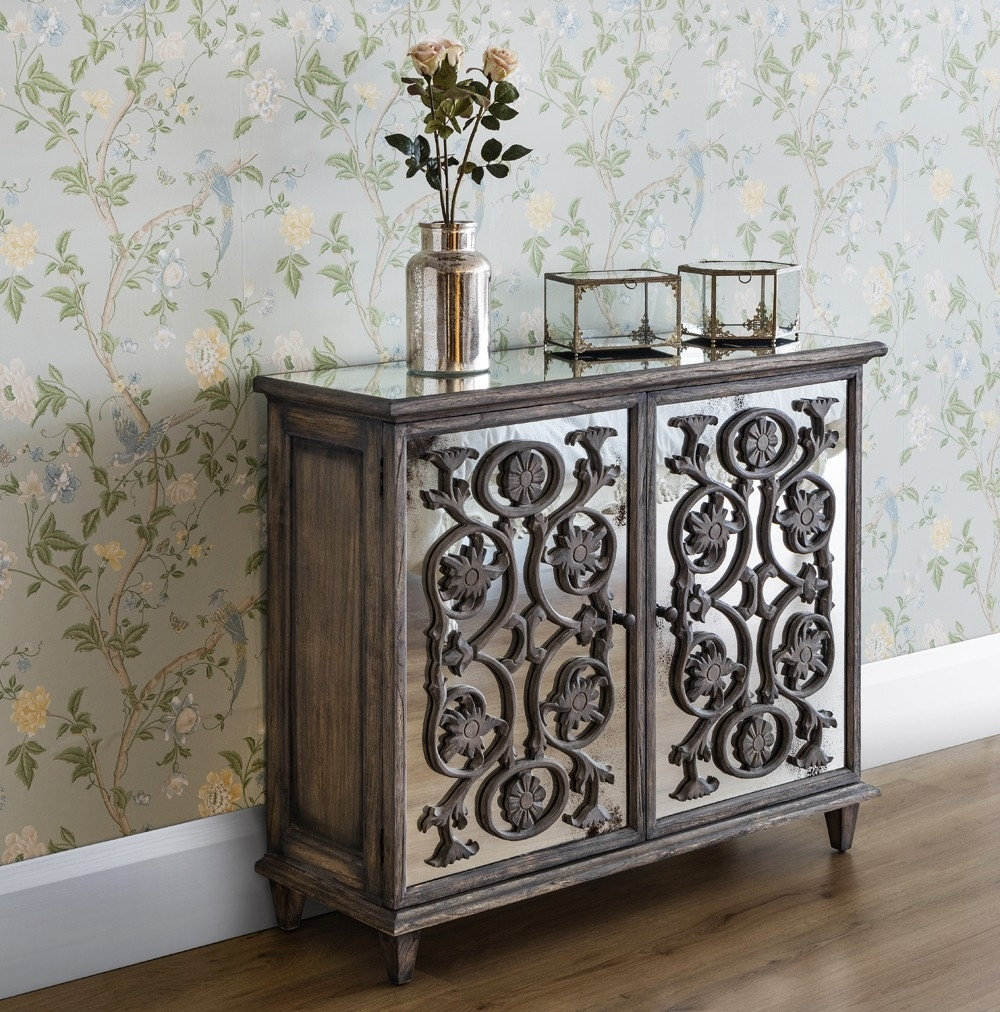 Inspiration about Dorset Contemporary 2 Door Flower Carving Sideboard – French Sideboards Within Most Recently Released Carved 4 Door Metal Frame Sideboards (#10 of 20)