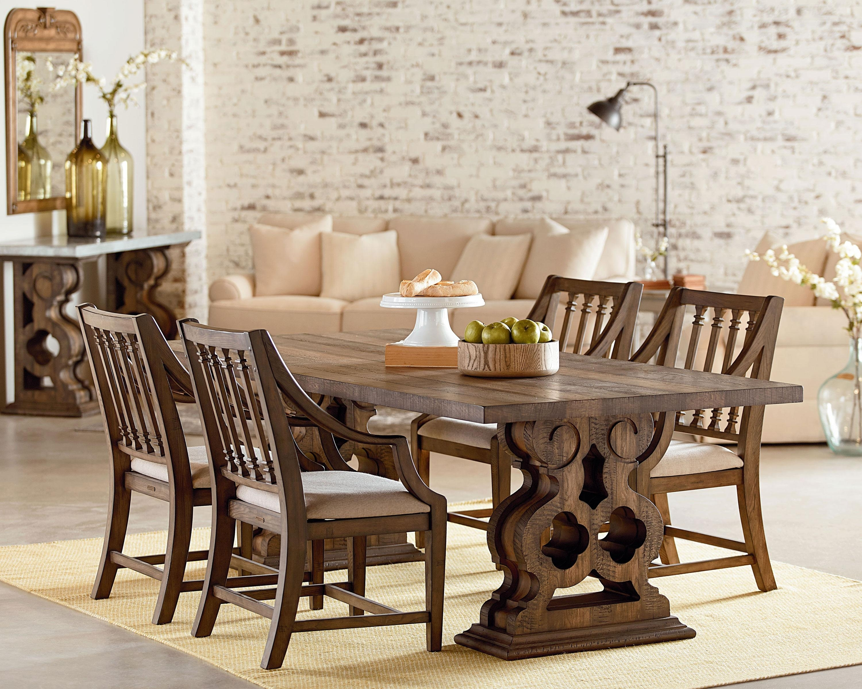 Double Pedestal + Revival – Magnolia Home Within Trendy Magnolia Home Revival Side Chairs (#2 of 20)