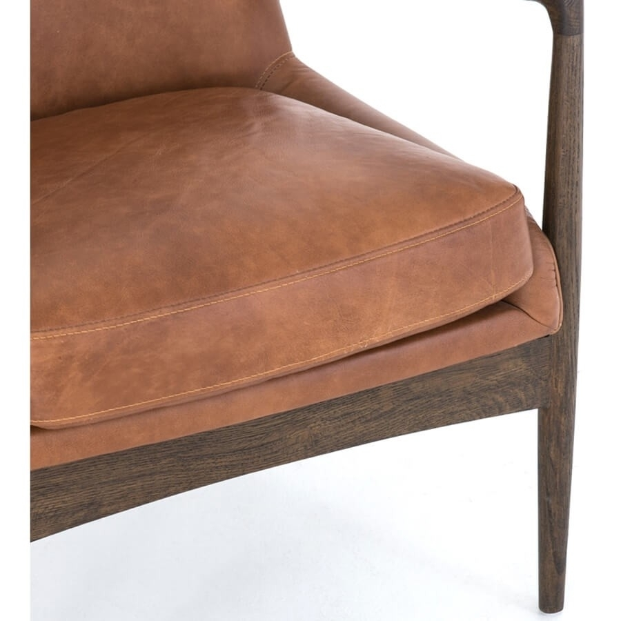 Inspiration about Durango Smoke & Warm Cedar Dining Chairs For Trendy Braden Leather Chair, Brandy – Leather – Chairs – Furniture (#17 of 20)