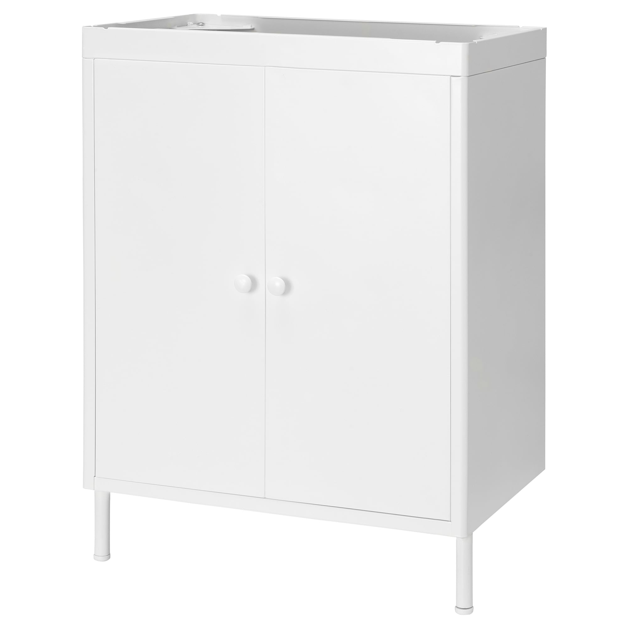 Inspiration about Dynan Wash Basin Cabinet With 2 Doors – Ikea In Newest White Wash 4 Door Galvanized Sideboards (#20 of 20)