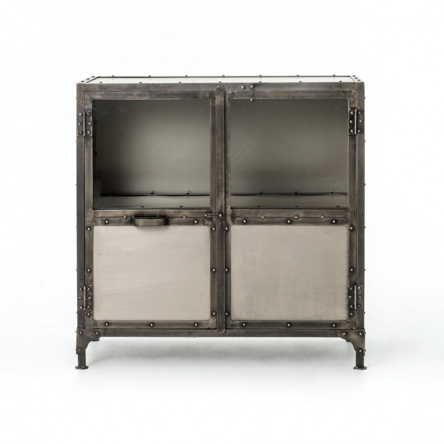Element Sideboard   Industrial Home With Regard To Most Current White Wash 4 Door Galvanized Sideboards (View 17 of 20)