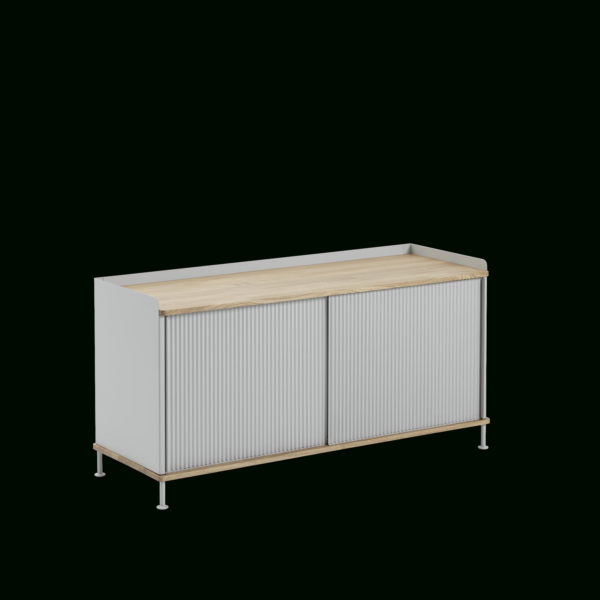 Enfold Sideboard | Scandinavian Storage Design Within 2018 Metal Refinement 4 Door Sideboards (View 16 of 20)