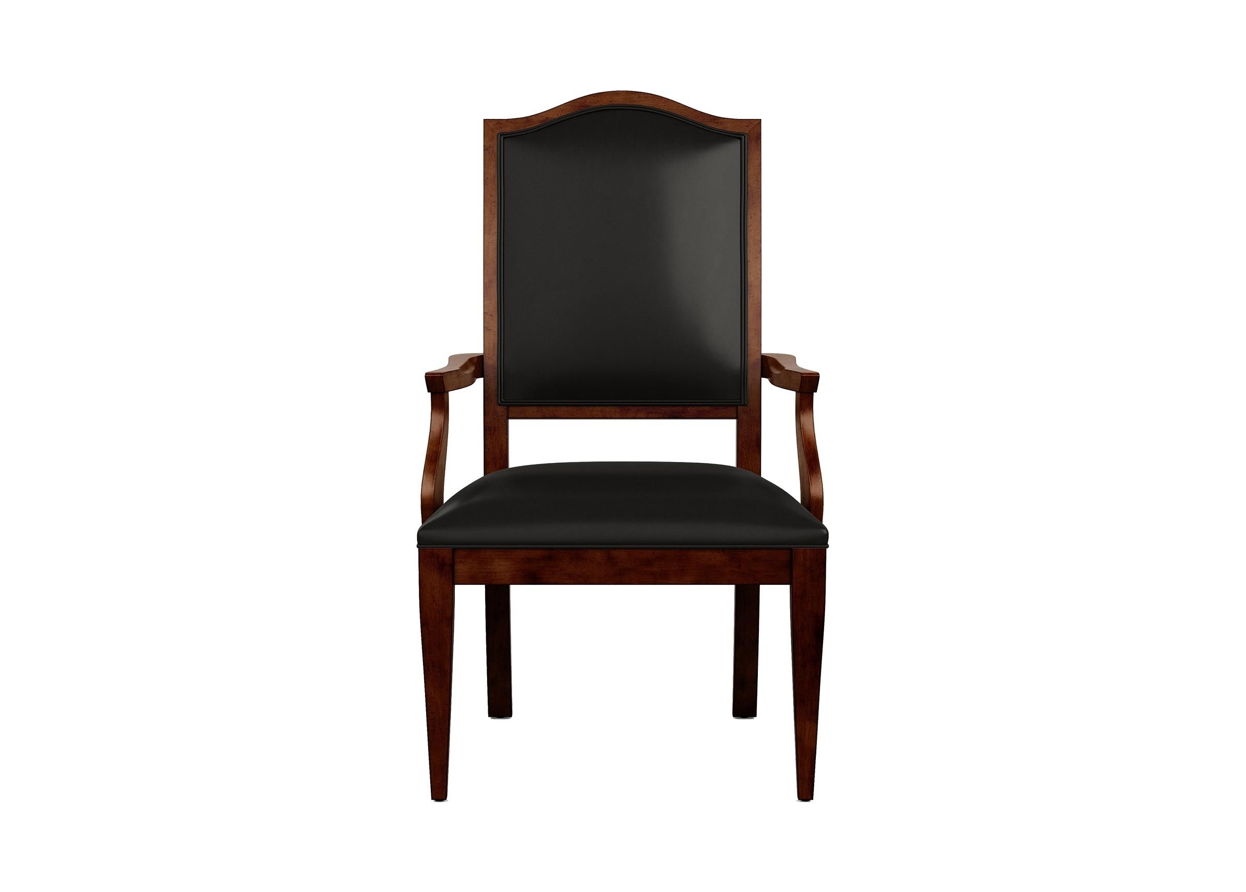 Ethan Allen With Hayden Ii Black Side Chairs (#4 of 20)