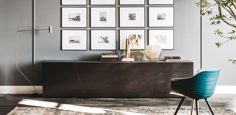 Explorer | Sideboards | Cattelan Italia Within Most Popular Black Burnt Oak Sideboards (View 12 of 20)