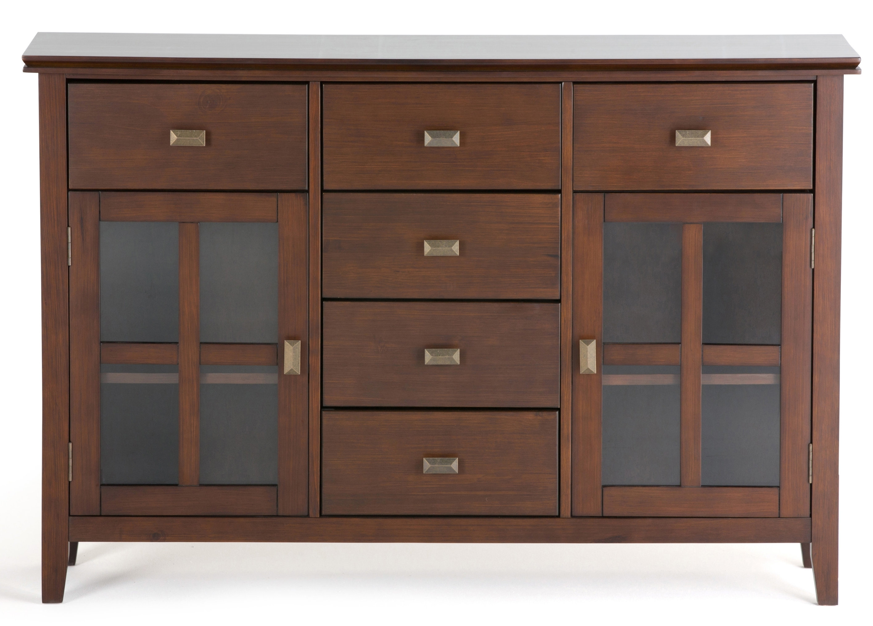 Extra Large Sideboards | Wayfair Pertaining To Best And Newest Vintage Finish 4 Door Sideboards (View 9 of 20)