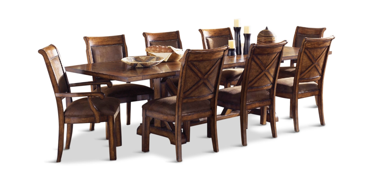 Famous Cole Ii Orange Side Chairs Within Larkspur Table With 4 Side Chairs And 2 Arm (#10 of 20)