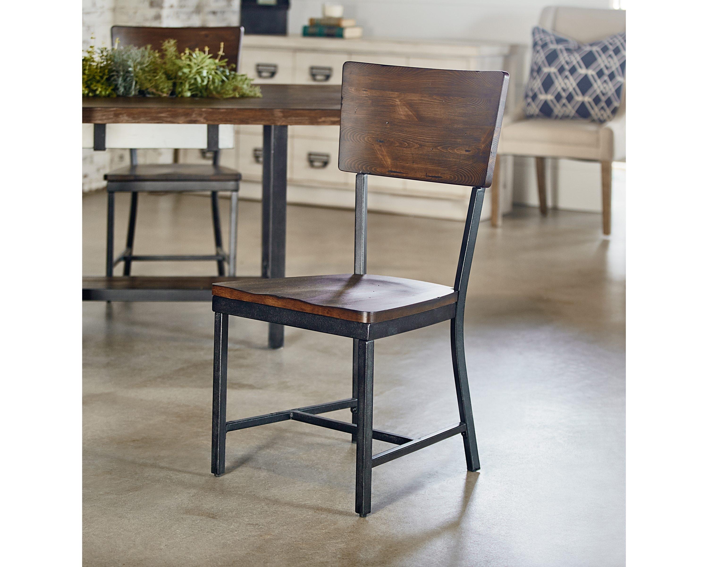 Famous Contour Side Chair – Magnolia Home Regarding Magnolia Home Contour Milk Crate Side Chairs (#5 of 20)