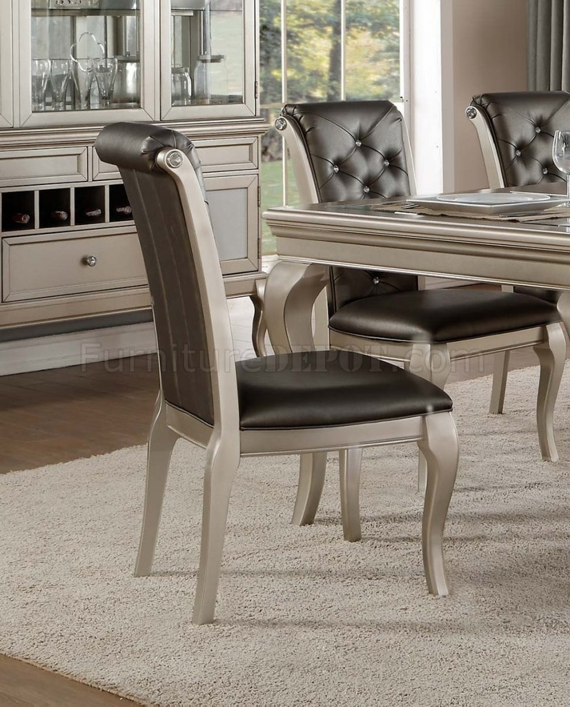 Famous Crawford Dining Table 5546 84Homelegance W/options Inside Crawford Side Chairs (#7 of 20)