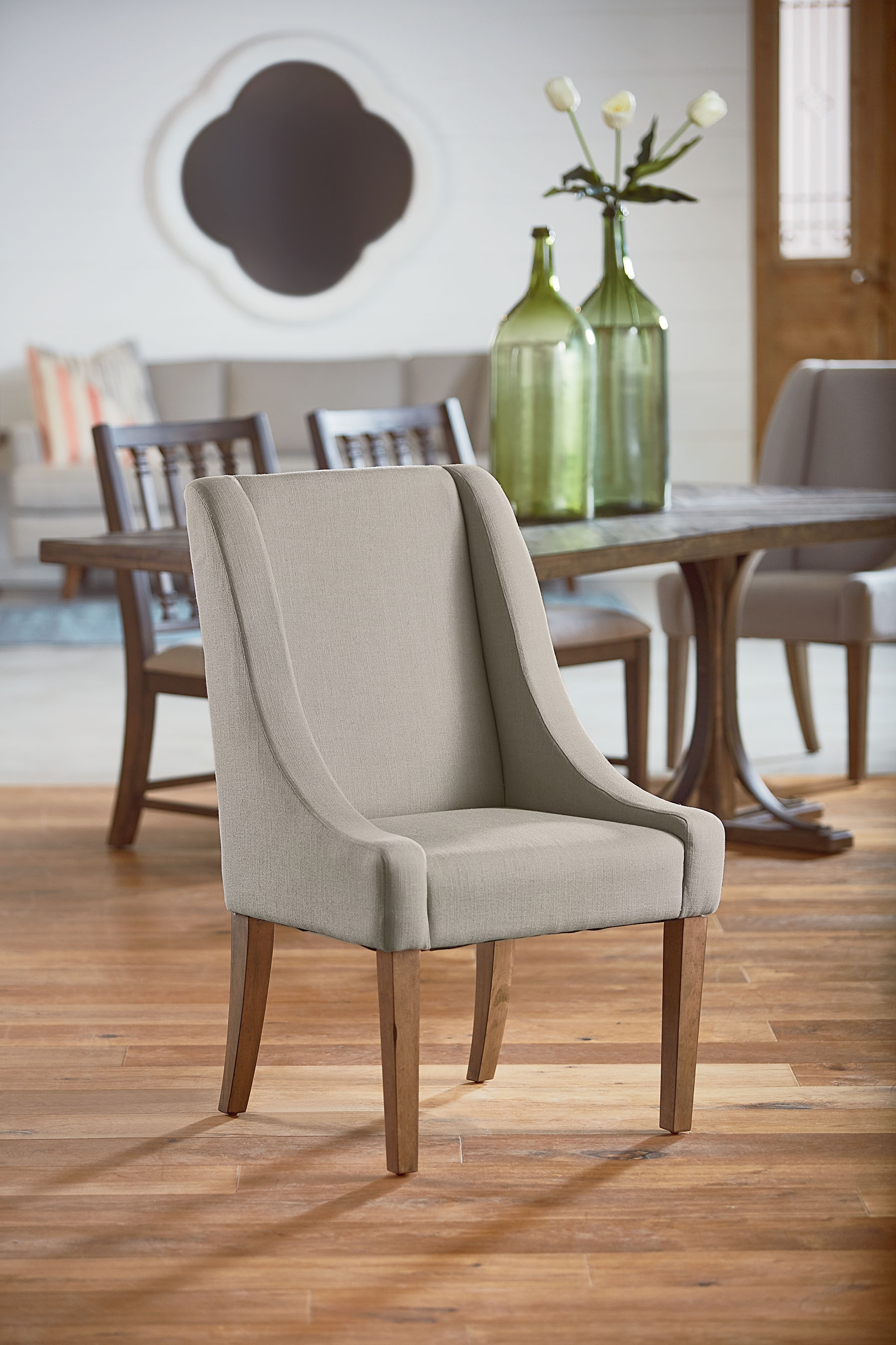 Famous Demi Wing Side Chair – Magnolia Home Pertaining To Magnolia Home Demi Flannel Wing Side Chairs (#5 of 20)
