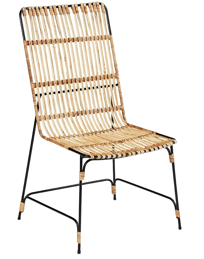 Popular Photo of Magnolia Home Entwine Rattan Side Chairs