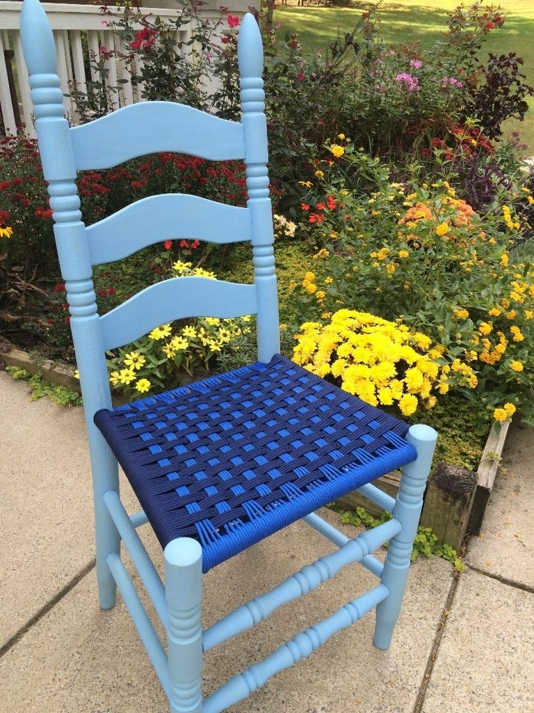 Famous Garten Storm Chairs With Espresso Finish Set Of 2 In Weave Chair Seats With Paracord: 8 Steps (With Pictures) (#5 of 20)