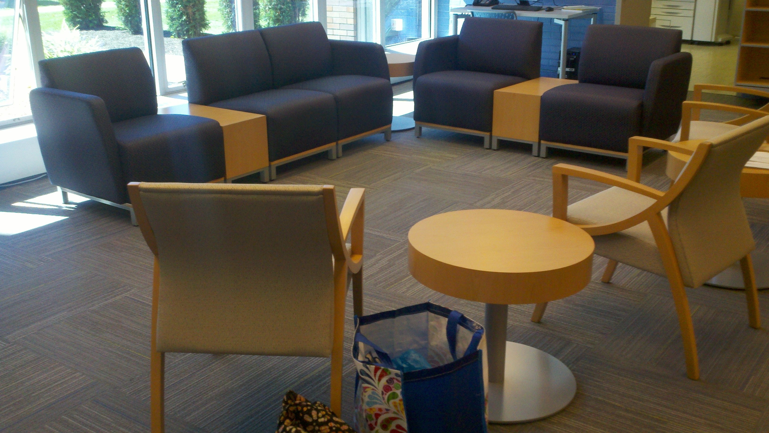 Famous Magnificat Faculty Lounge (Cleveland, Oh) Swift Lounge Seating And In Swift Side Chairs (#5 of 20)