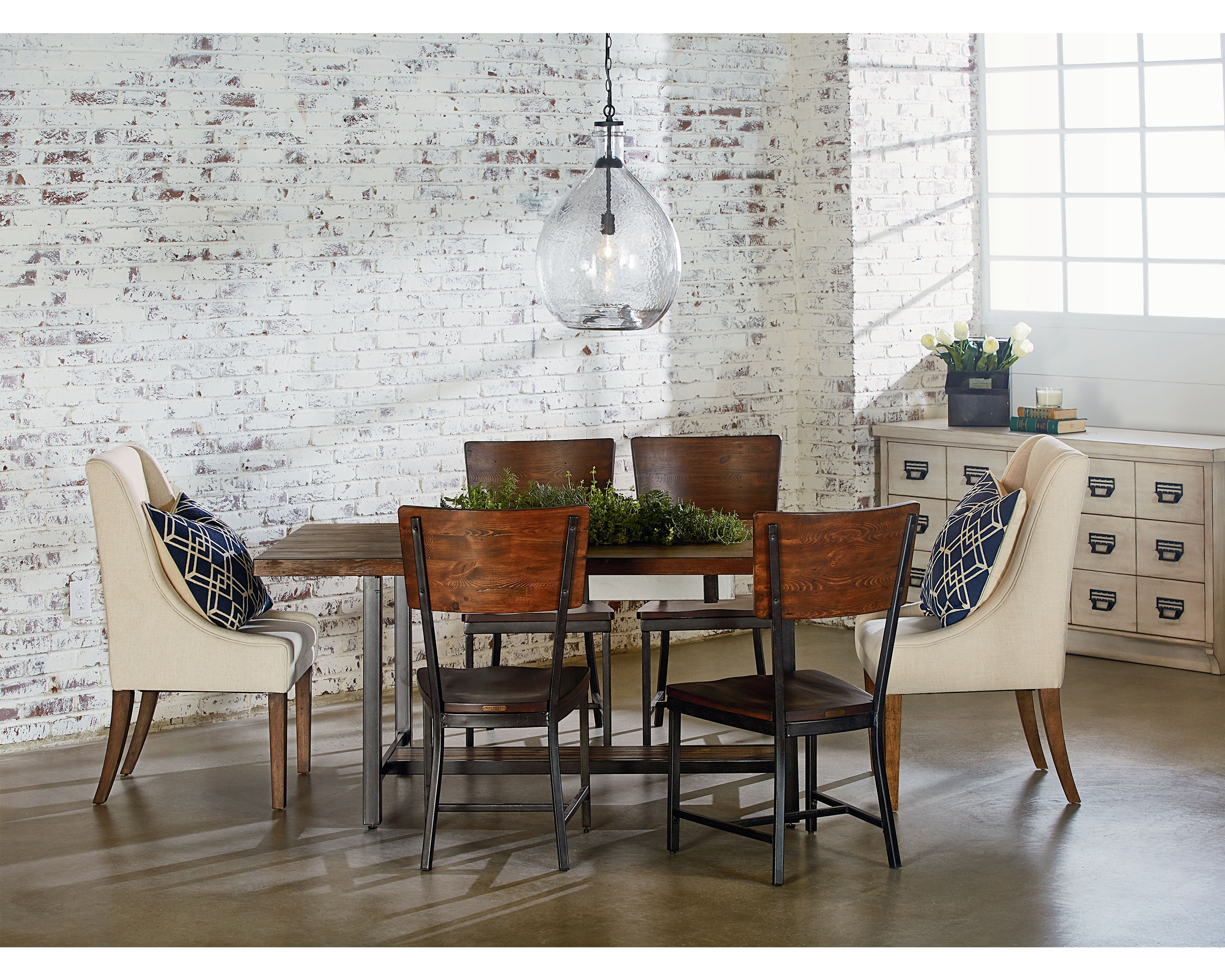Popular Photo of Magnolia Home Contour Milk Crate Side Chairs