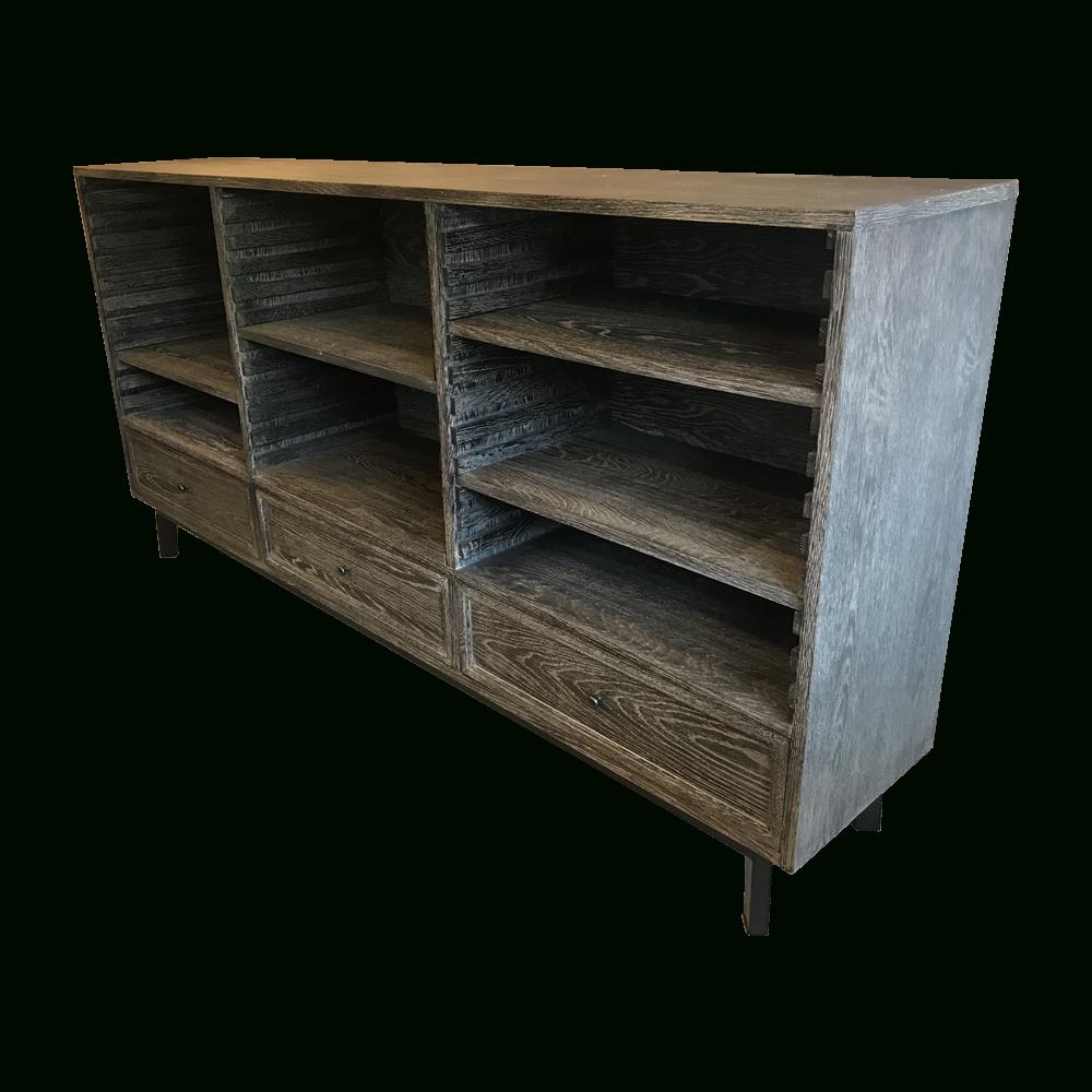 Fancy / ファンシー Sideboard Aalborg Black Burnt Oak | 高級 With Regard To Recent Black Burnt Oak Sideboards (View 10 of 20)