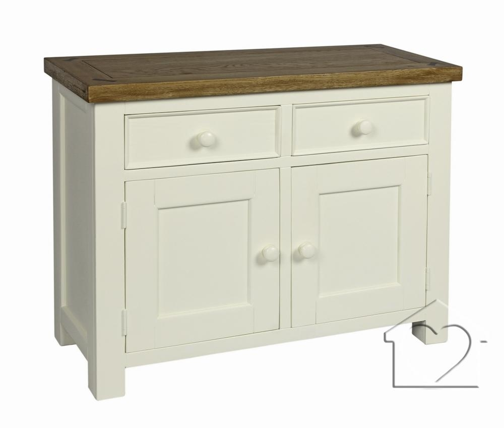 Farmhouse Cream 2 Drawer 2 Door Sideboard – £ (#8 of 20)