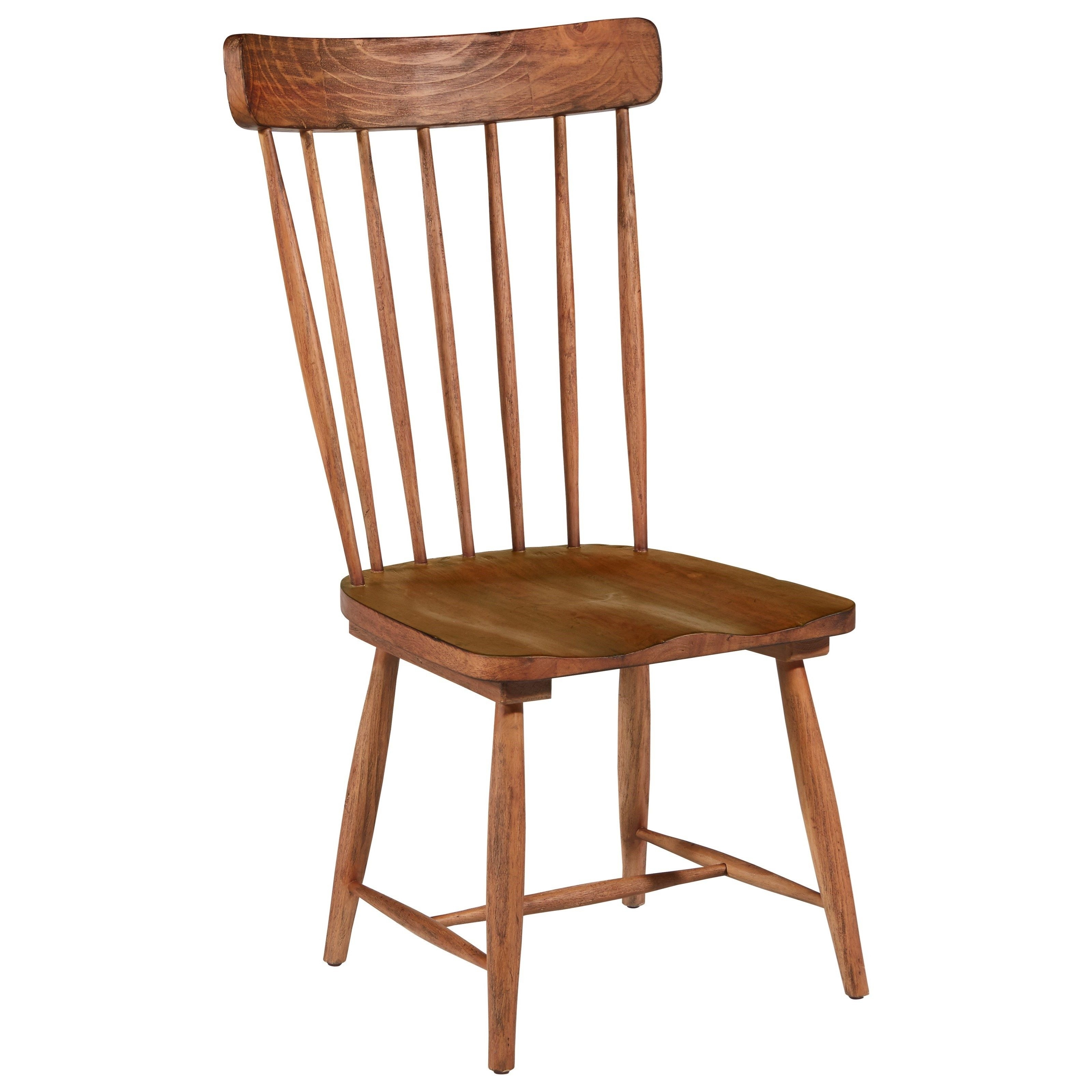Farmhouse Spindle Back Side Chairmagnolia Homejoanna Gaines For Well Known Magnolia Home Hamilton Saddle Side Chairs (#4 of 20)