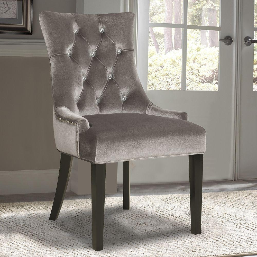 Fashionable Burton Metal Side Chairs With Wooden Seat Throughout Arm Chair – Gray – Dining Chairs – Kitchen & Dining Room Furniture (#9 of 20)