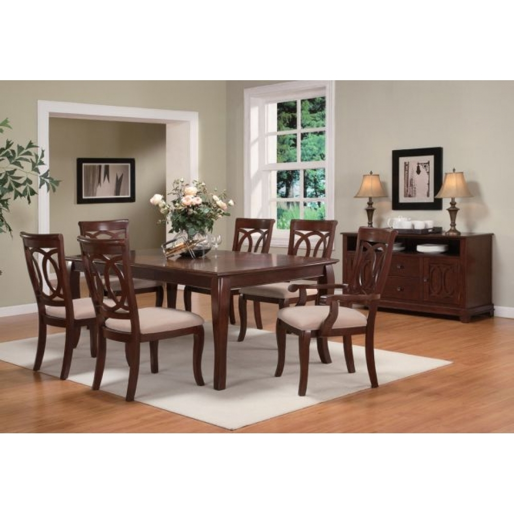 Fashionable Caden Transitional Side Chair With Open Fret Back And Fabric Seat With Caden Side Chairs (#9 of 20)