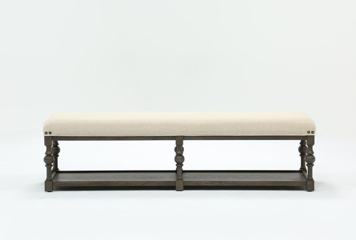 Fashionable Candice Ii Upholstered Dining Bench (#7 of 20)