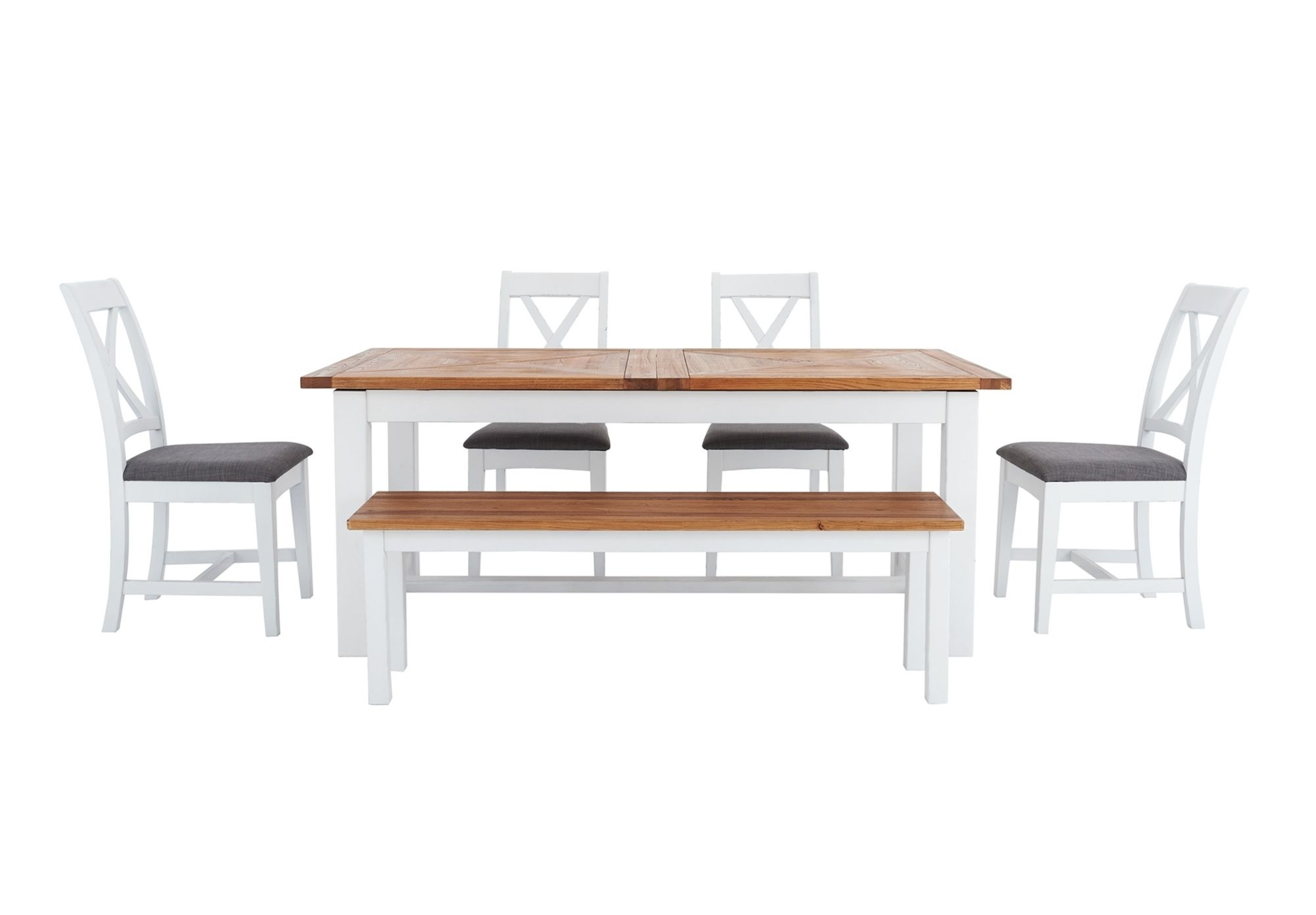 Fashionable Extending Dining Table – Parquet – Dining Furniture From Furniture Pertaining To Parquet Dining Chairs (#4 of 20)