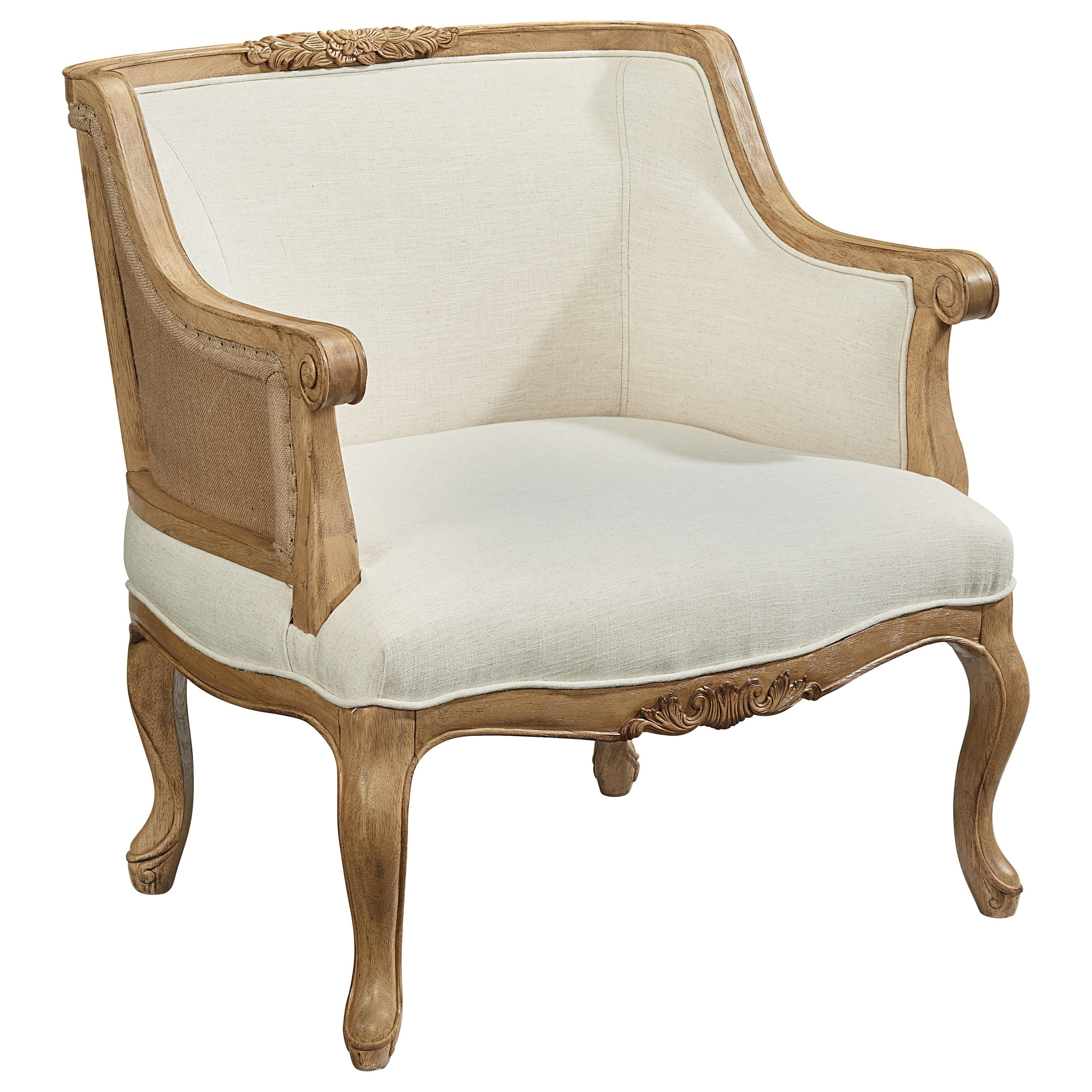 Fashionable Magnolia Homejoanna Gaines Accent Chairs 80635020 Bloom With Magnolia Home Reed Arm Chairs (#10 of 20)