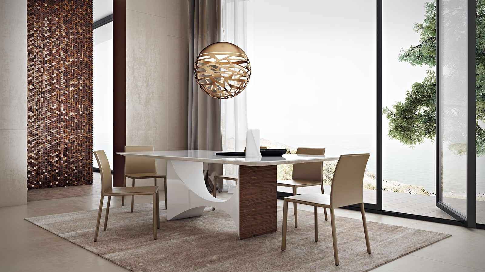 Favorite Camden Dining Chairs Throughout Camden Dining Table – Kaza Modern Furniture (#11 of 20)