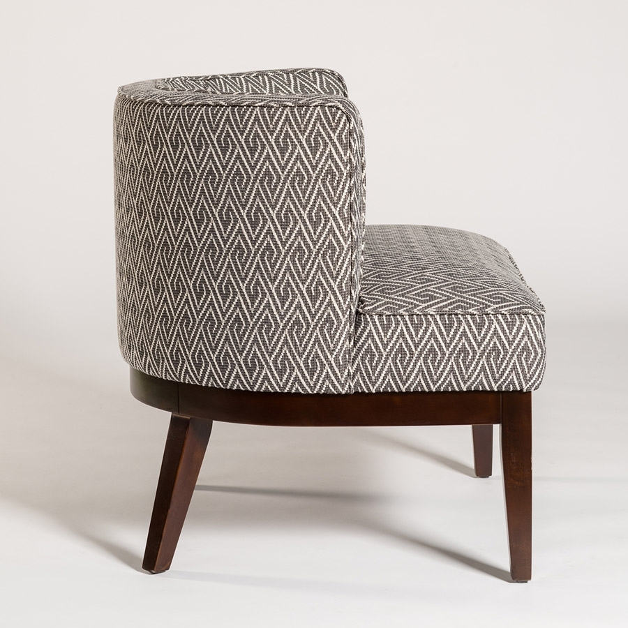 Favorite Chandler Wood Side Chairs Inside Chandler Occasional Chair – Alder & Tweed Furniture (#13 of 20)