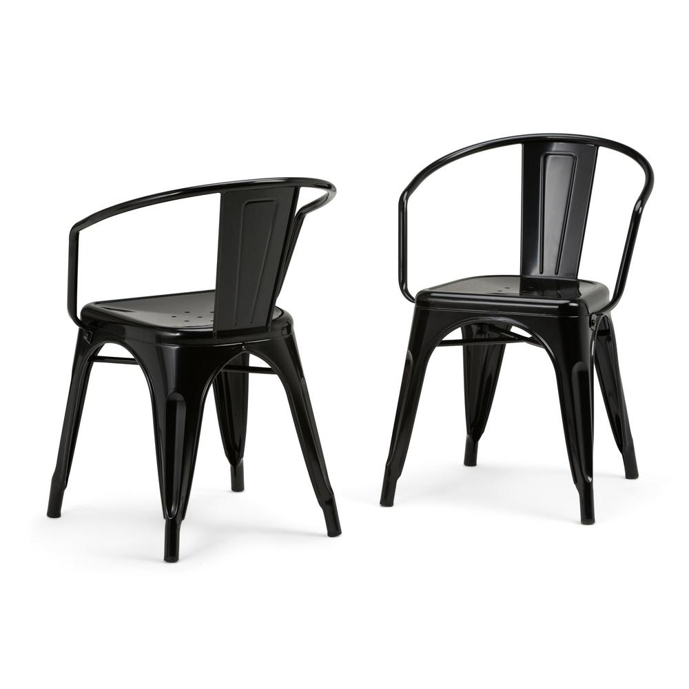 Favorite Hayden Ii Black Side Chairs Within Parsons Chair – Dining Chairs – Kitchen & Dining Room Furniture (#5 of 20)