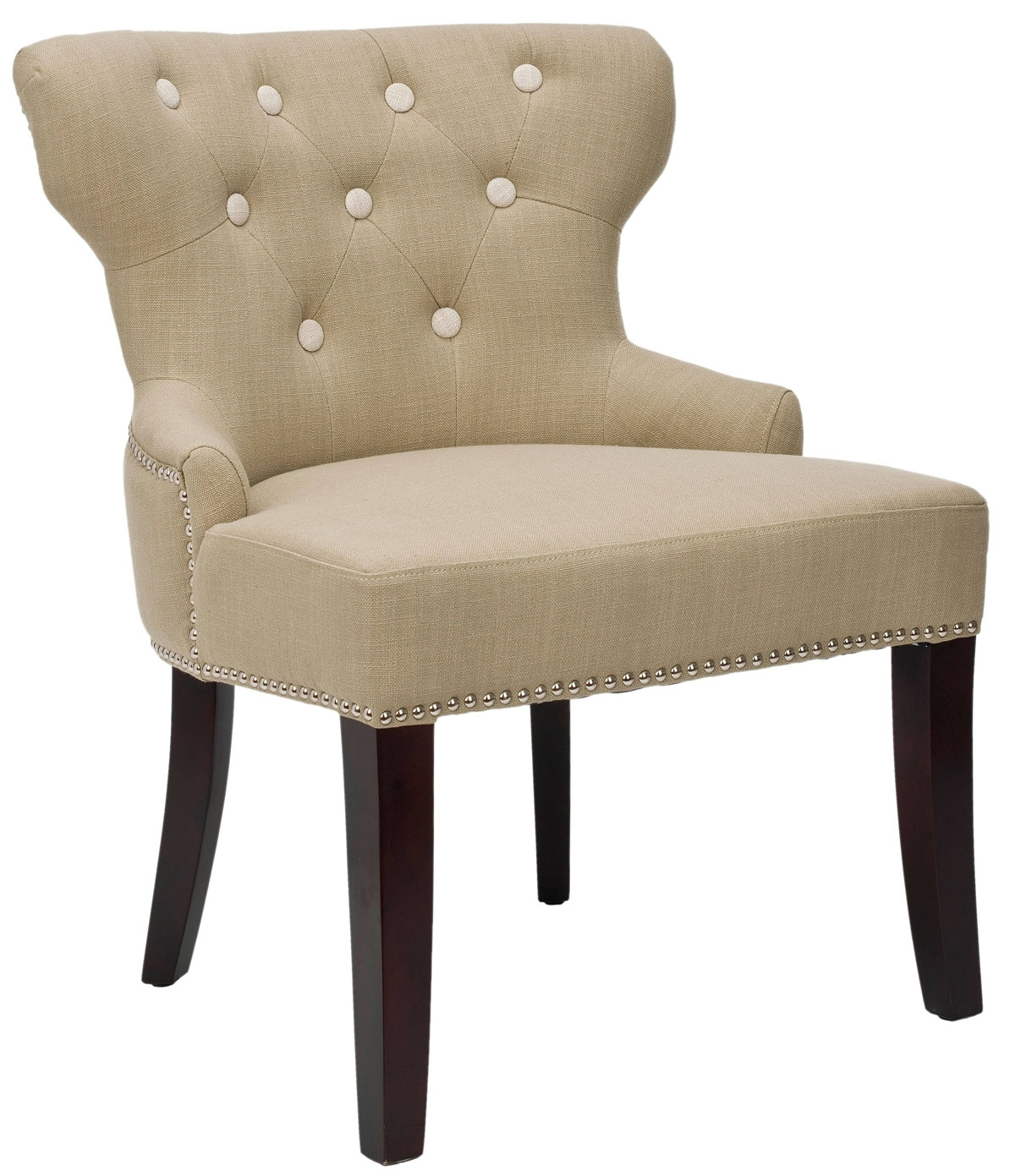 Favorite Mcr4545A Accent Chairs – Furnituresafavieh In Alexa White Side Chairs (#9 of 20)