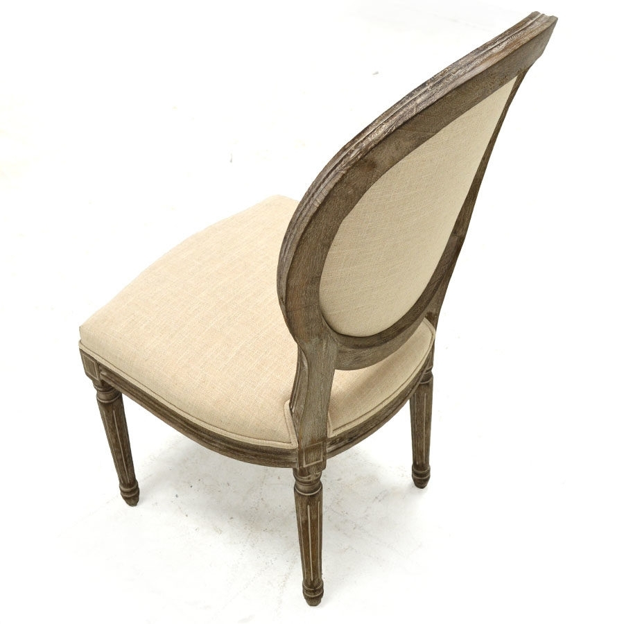 Favorite Perla Dining Side Chair, Natural Flax – Home Source Furniture Intended For Perla Side Chairs (#2 of 20)