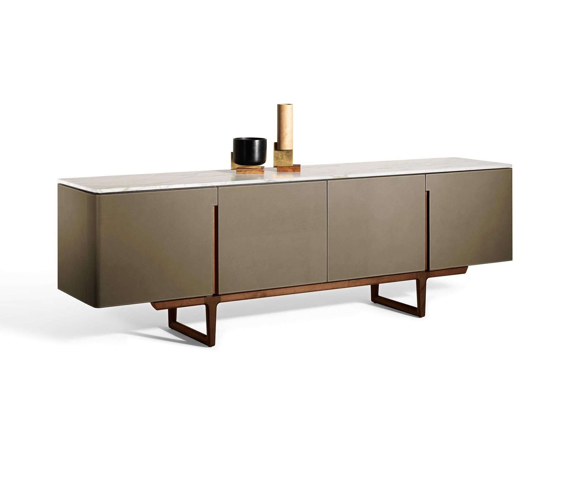 Fidelio – Designer Sideboards From Poltrona Frau ✓ All Information Throughout Latest Diamond Circle Sideboards (#9 of 20)