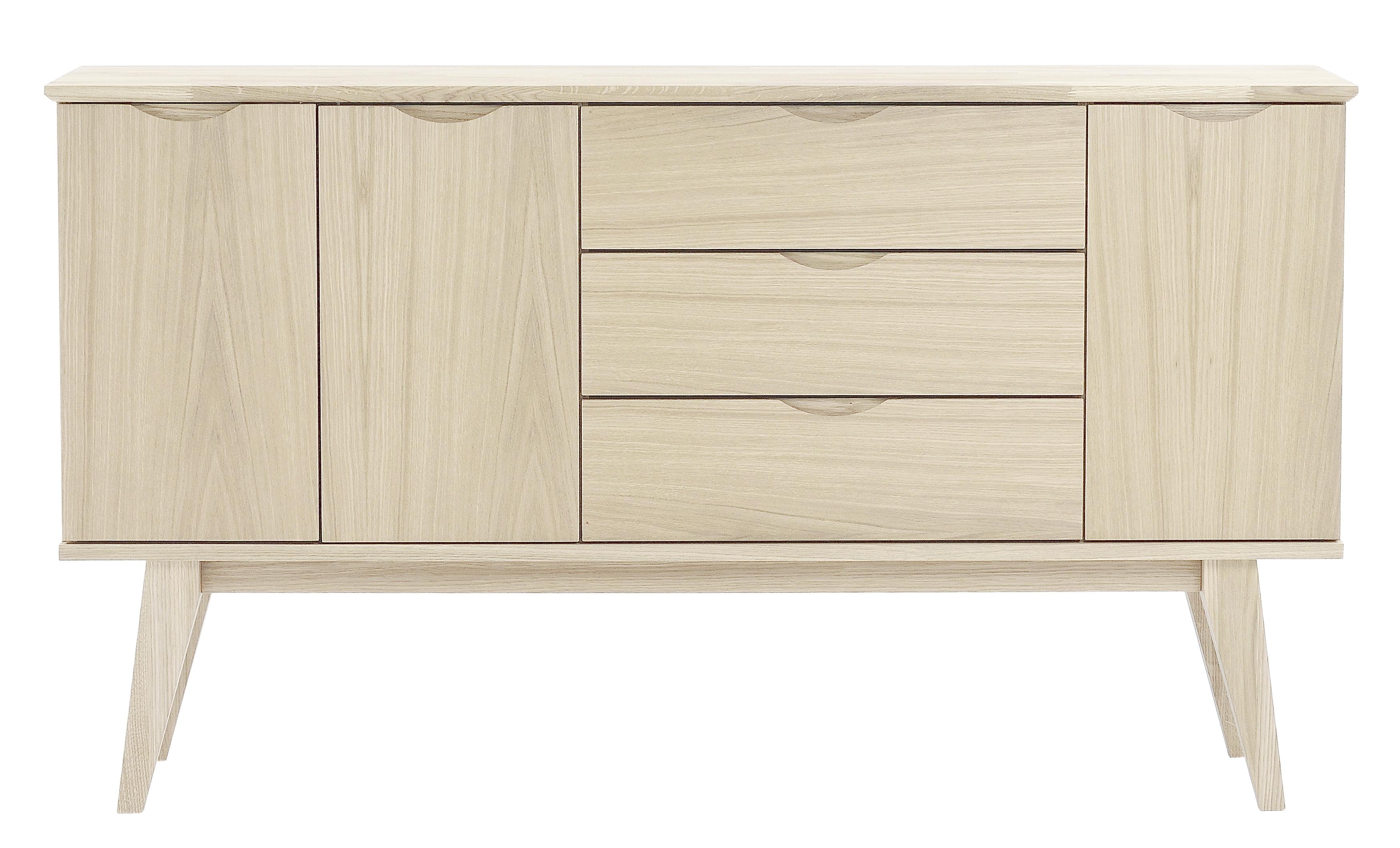 Filippa Sideboard – Whitewash – 113786 | Furniture From Rowico Throughout Most Popular 3 Drawer/2 Door White Wash Sideboards (#8 of 20)