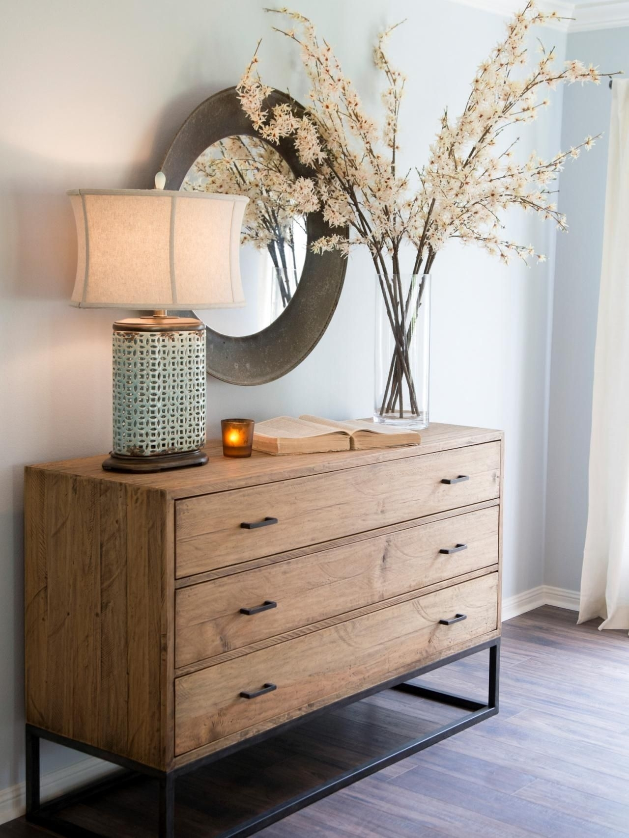 Fixer Upper: A Rush To Renovate An '80S Ranch Home | Fixer Upper With Most Current Geo Capiz Sideboards (#11 of 20)
