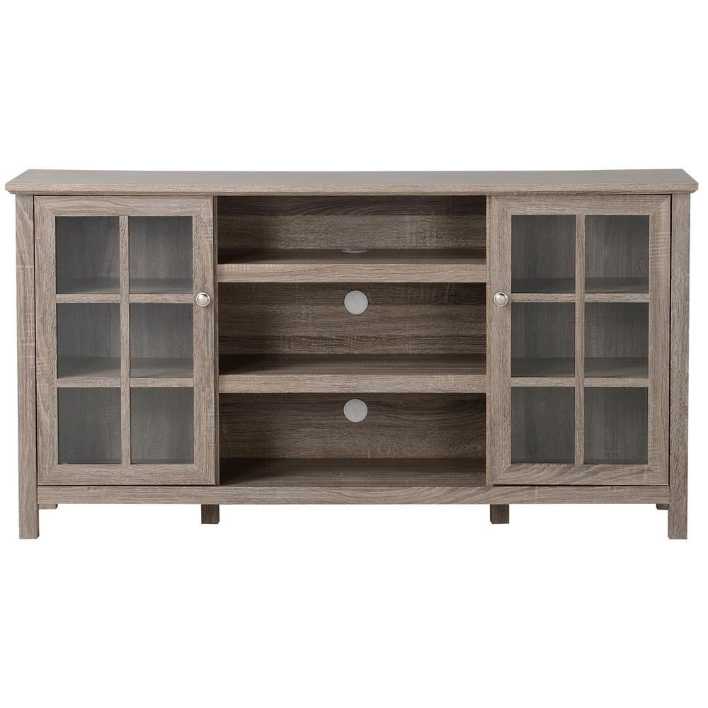 Flamelux Provence Reclaimed Wood Entertainment Center Zprovence For Most Popular Reclaimed Pine & Iron 72 Inch Sideboards (View 17 of 20)