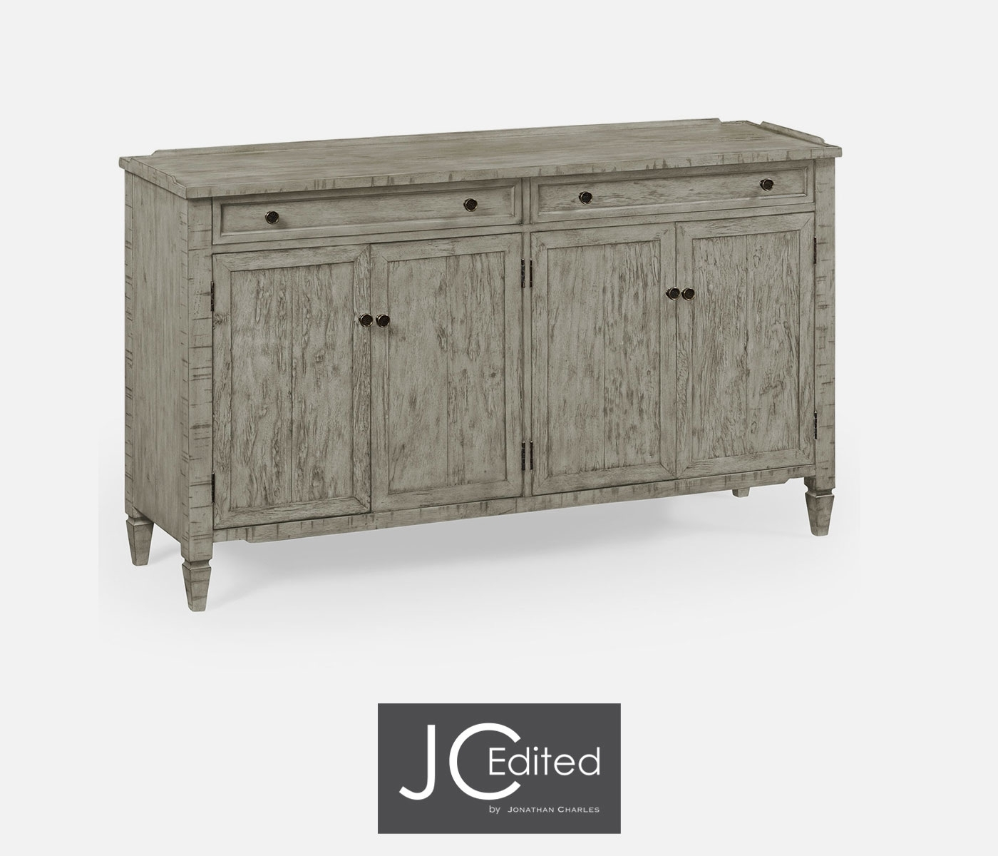 Popular Photo of Vintage Finish 4 Door Sideboards