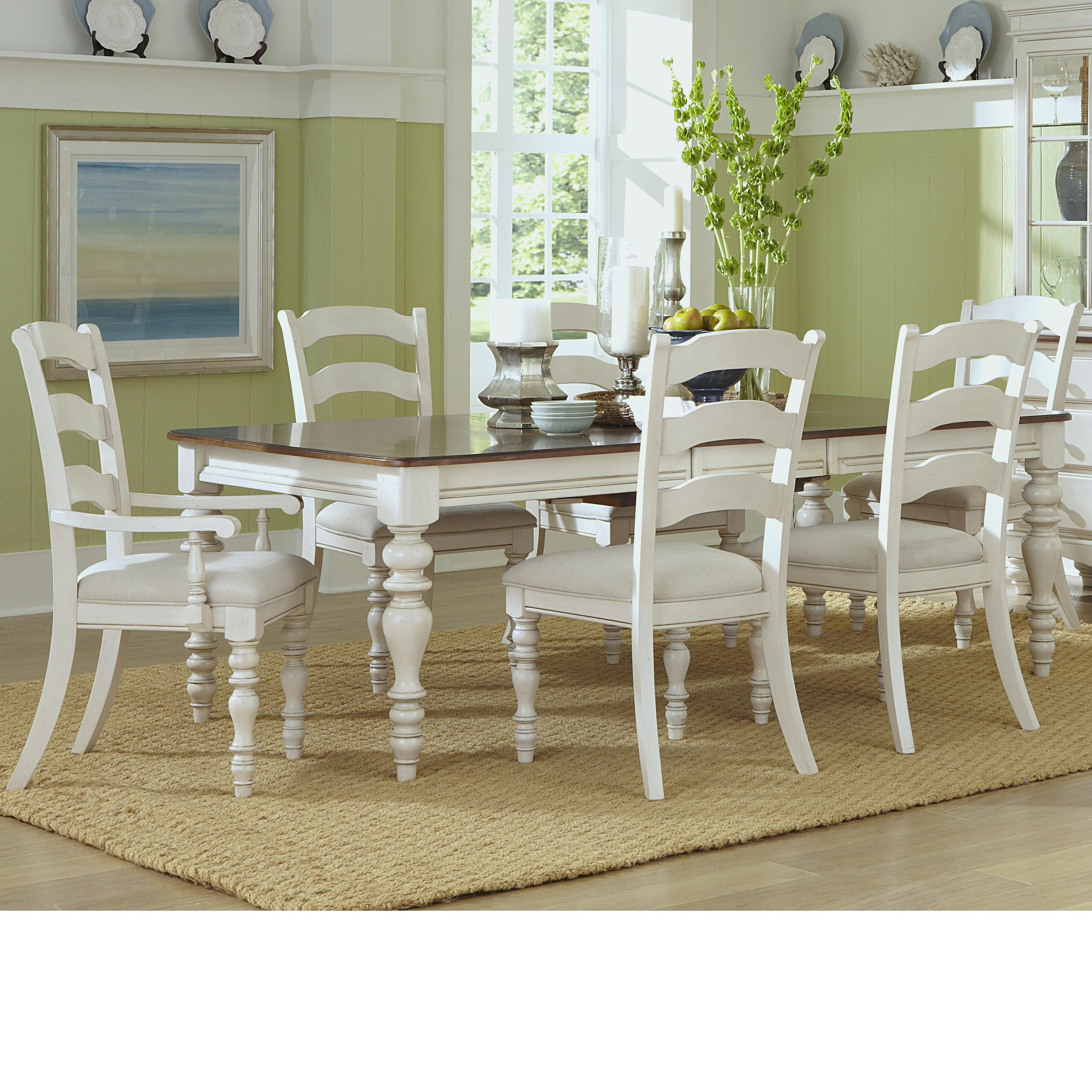 Furniture Inside Pine Wood White Dining Chairs (#4 of 20)