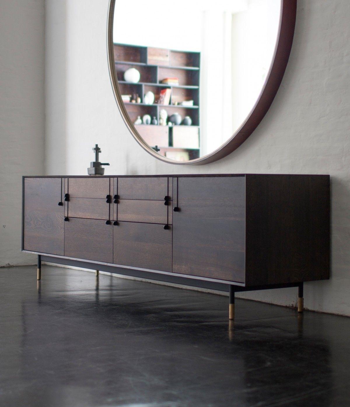 Furniture | Lake Credenza | Bddw | Sideboard | Pinterest | Furniture Throughout Most Recent Rani 4 Door Sideboards (#4 of 20)