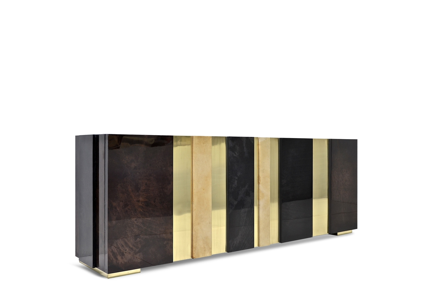Inspiration about Gateau Sideboard – Goatskin / Brass | Scala Luxury Intended For Most Recent Aged Brass Sideboards (#18 of 20)
