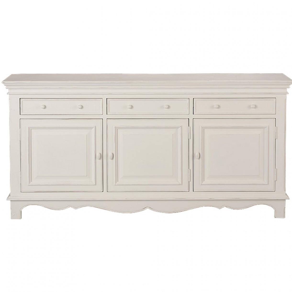 Harmonie 3 Door Sideboard Inside Most Up To Date White Wash 3 Door 3 Drawer Sideboards (View 13 of 20)