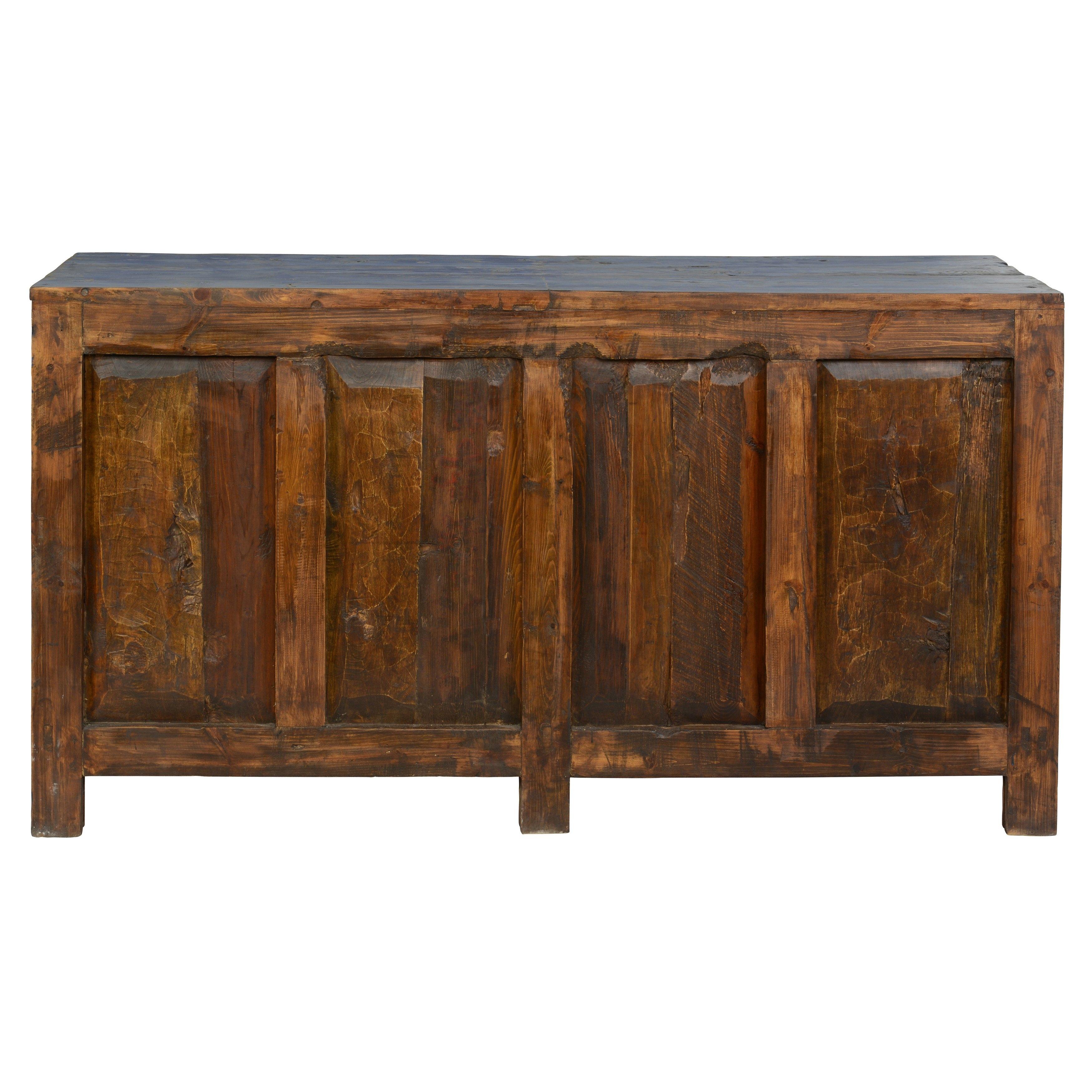 Havana Reclaimed Pine 4 Door Buffetkosas Home – Free Shipping Within Recent Reclaimed Pine 4 Door Sideboards (#10 of 20)