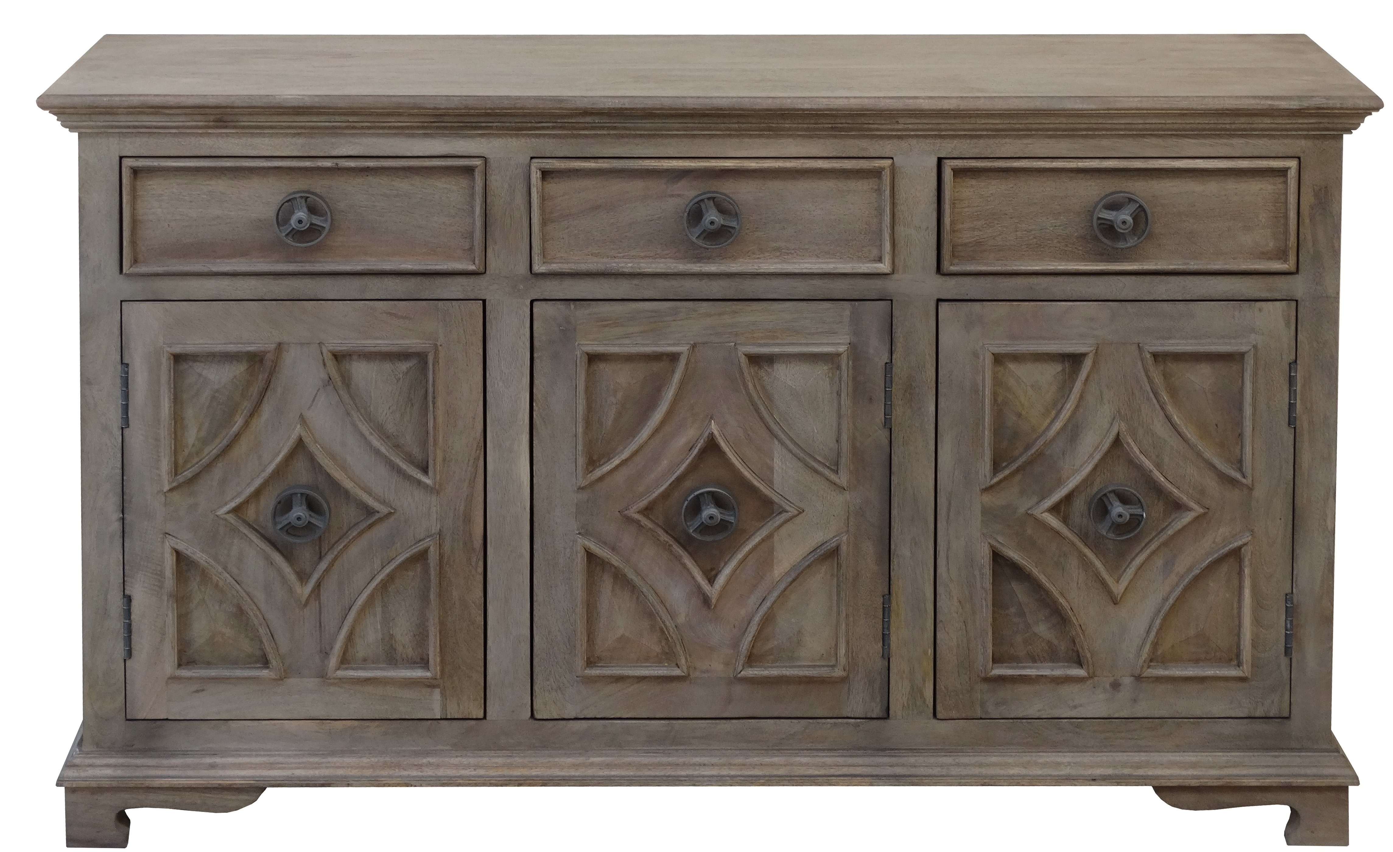 Hayter Sideboard & Reviews | Joss & Main With Most Up To Date Reclaimed Pine & Iron 4 Door Sideboards (View 14 of 20)