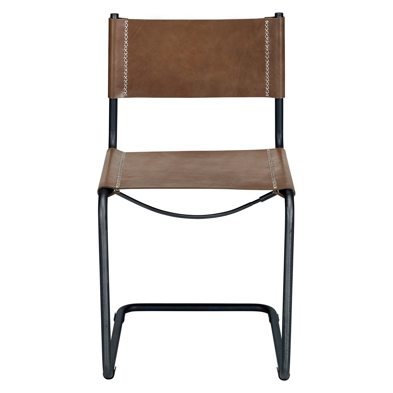Helms Side Chairs Within Fashionable Swing Dining Chair Brown (#9 of 20)
