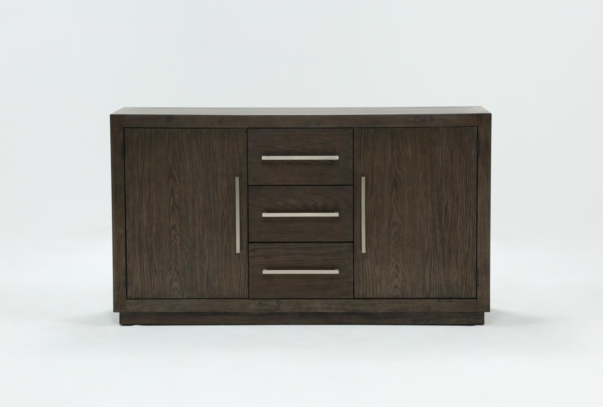 Helms Sideboard | Living Spaces With Most Up To Date Bale Rustic Grey Sideboards (#11 of 20)