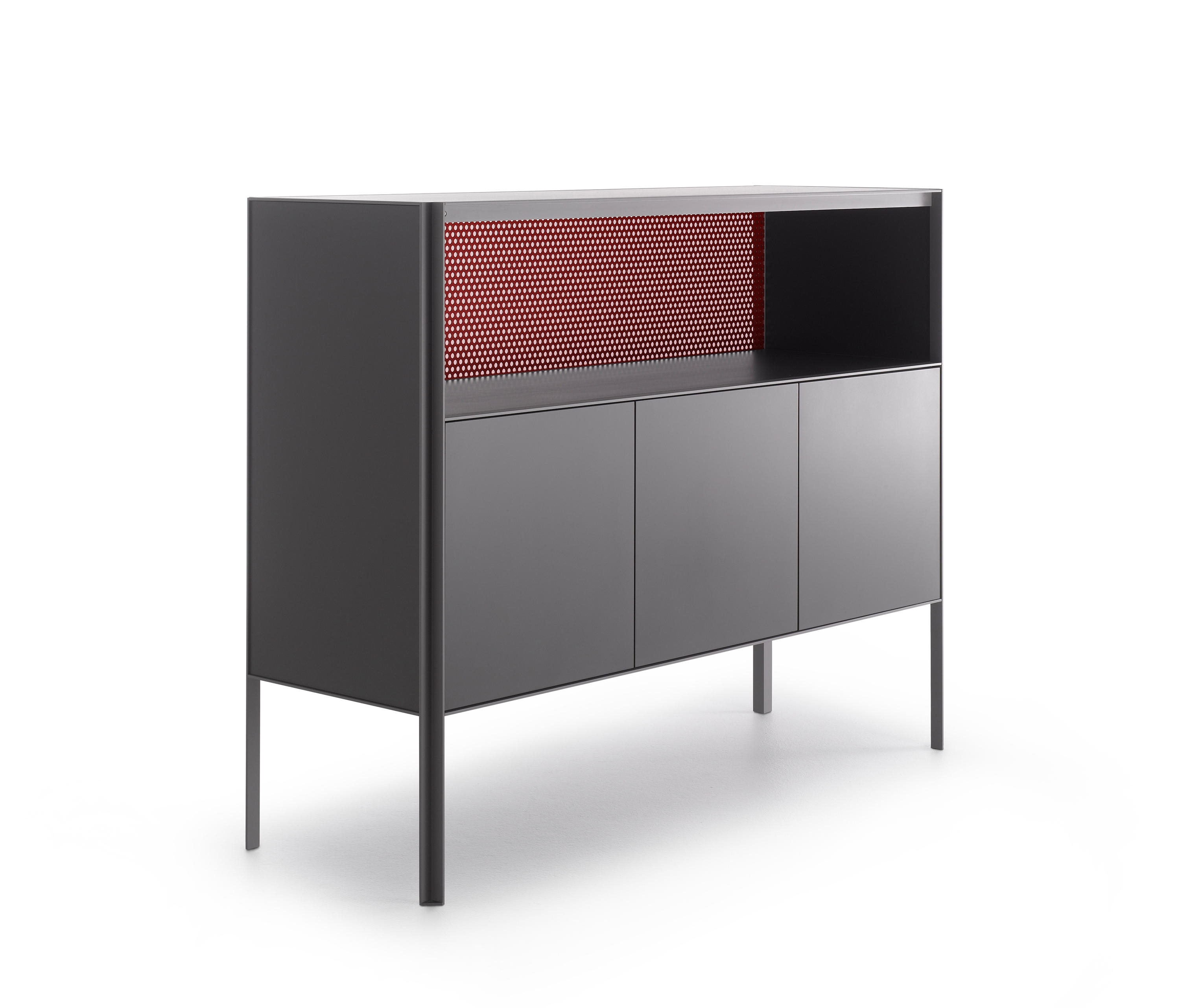 Heron – Sideboards From Mdf Italia | Architonic Inside Most Recently Released 3 Door 3 Drawer Metal Inserts Sideboards (#5 of 20)